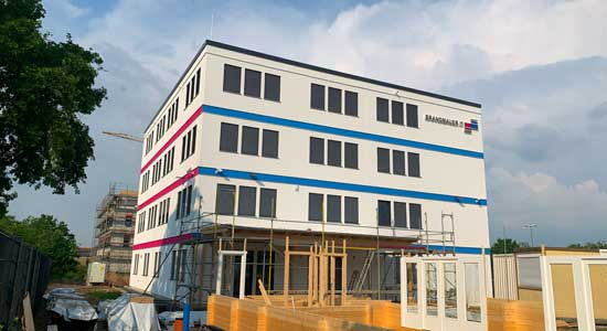 Brandmauer IT Office